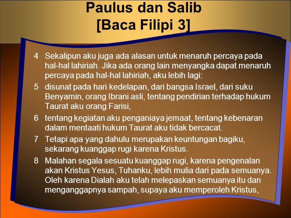 Paulus dan Salib [Baca Filipi 3]
